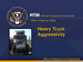 Heavy Truck Aggressivity