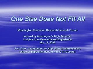 Calls for Transformation of the  American High School