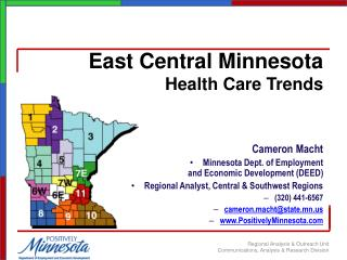 East Central Minnesota  Health Care Trends