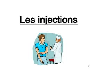 Les injections