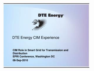 DTE Energy CIM Experience