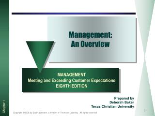 Management: An Overview