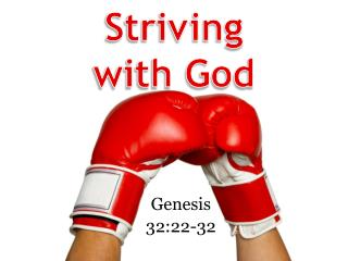 Striving with God