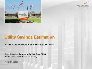 Utility Savings Estimation