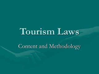 Tourism Laws