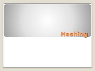 Arrays and Hashing