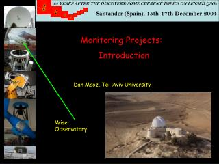 25 YEARS AFTER THE DISCOVERY: SOME CURRENT TOPICS ON LENSED QSOs  Santander (Spain), 15th-17th December 2004
