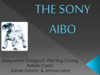 THE SONY AIBO