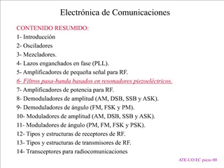 Electr nica de Comunicaciones