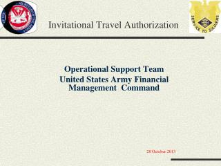 Invitational Travel Authorization
