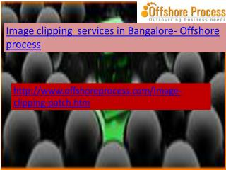 Image Clipping Services in Bangalore-Offshore process