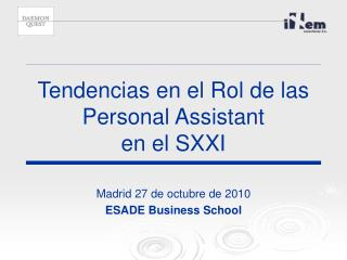 Tendencias en el Rol de las Personal Assistant en el SXXI