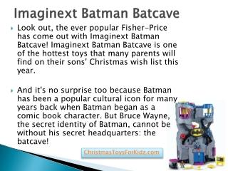 Imaginext Batman Batcave