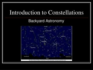 Introduction to Constellations