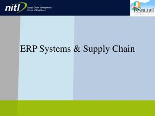 ERP Systems & Supply Chain