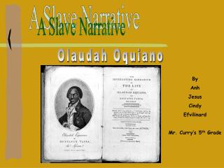 A Slave Narrative