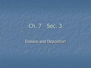 Ch. 7 Sec.  3