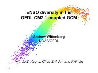 ENSO diversity in the GFDL CM2.1 coupled GCM
