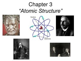 "Chapter 3 ""Atomic Structure"""