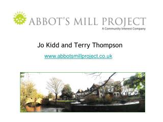 Jo Kidd and Terry Thompson