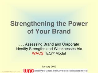 Strengthening the Power of Your Brand