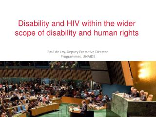 Disability and HIV within the wider scope of disability and human rights