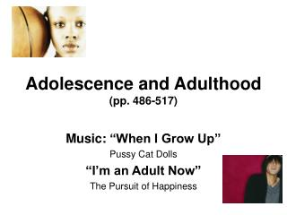 Adolescence and Adulthood  (pp. 486-517)