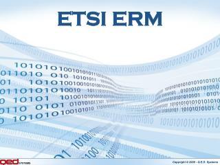 ETSI ERM