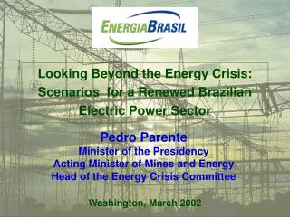 Looking Beyond the Energy Crisis: Scenarios  for a Renewed Brazilian Electric Power Sector