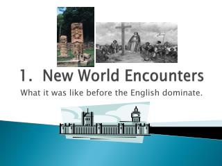 1.  New World  Encounters