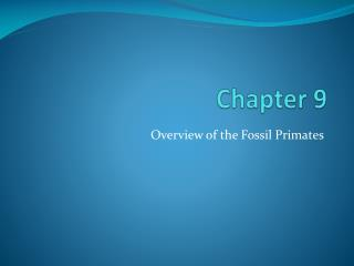 Chapter 9
