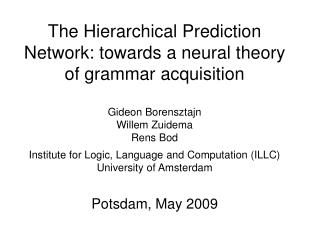 A neural theory of language processing?