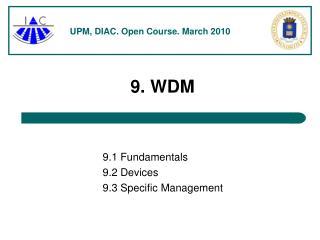 9. WDM