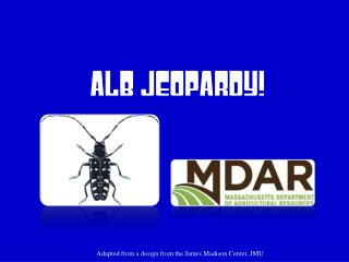 ALB Jeopardy!
