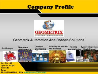 Geometrix Automation And Robotic Solutions