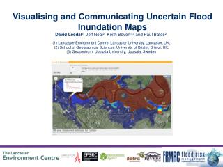 Visualising and Communicating Uncertain Flood Inundation Maps