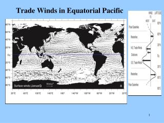Trade Winds in Equatorial Pacific