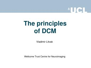 The principles of DCM