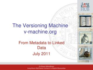 The Versioning Machine v-machine.org