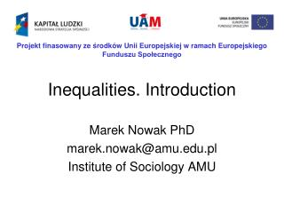 Inequalities. Introduction
