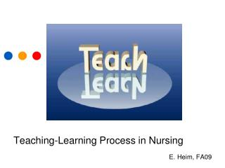 Teaching-Learning Process in Nursing