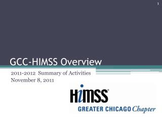 GCC-HIMSS  Overview