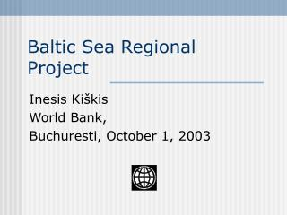 Baltic Sea Regional Project