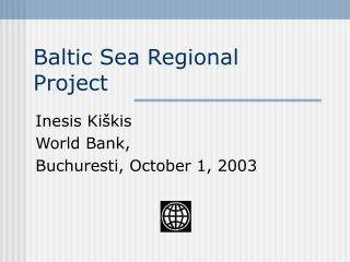 Baltic Sea Regional Project