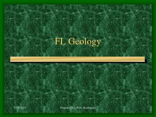 FL Geology