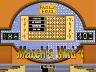 March's Mini T