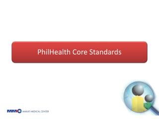 A yardstick against which the quality of health care rendered by accredited health  care providers can be measured