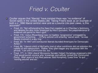 Fried v. Coulter