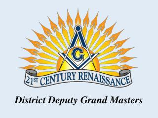 District Deputy Grand Masters