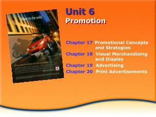 Unit 6 Promotion